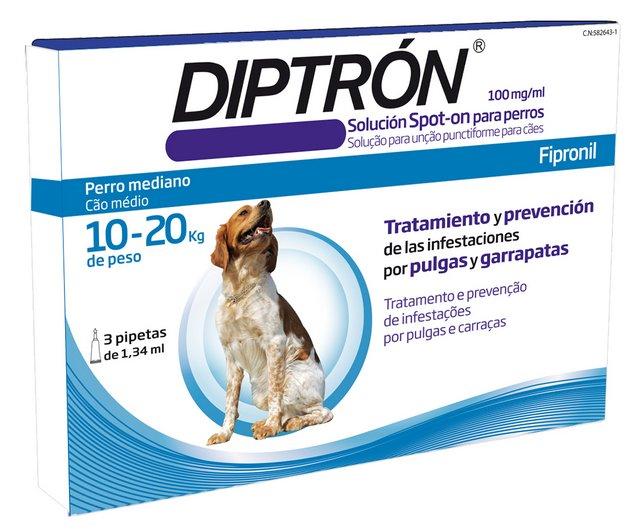 Pipetas DIPTRÓN 10 a 20 KG