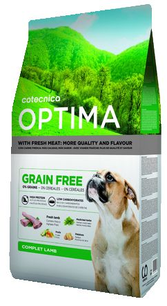 OPTIMA GRAIN FREE LAMB