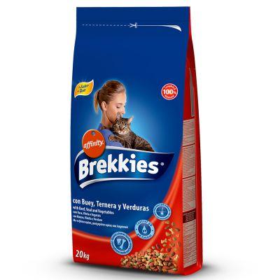 BREKKIES ( BUEY, TERNERA Y VERDURAS)