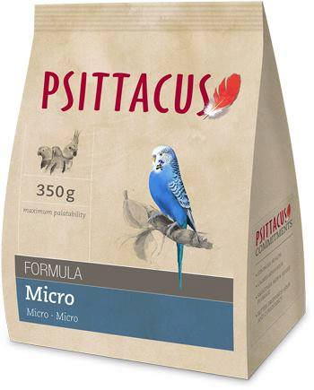 Psittacus Pienso Micro 350gr