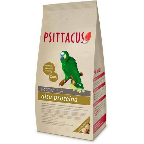 Pienso Psittacus Alta Proteína 800gr