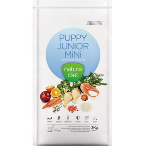 Natura Diet Puppy Junior Mini 3kg