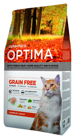 OPTIMA GRAIN FREE CAT