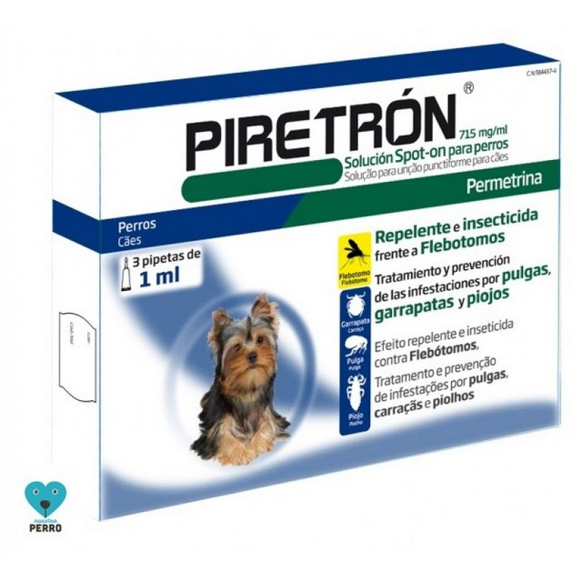 Pipetas PIRETRÓN 1 ML