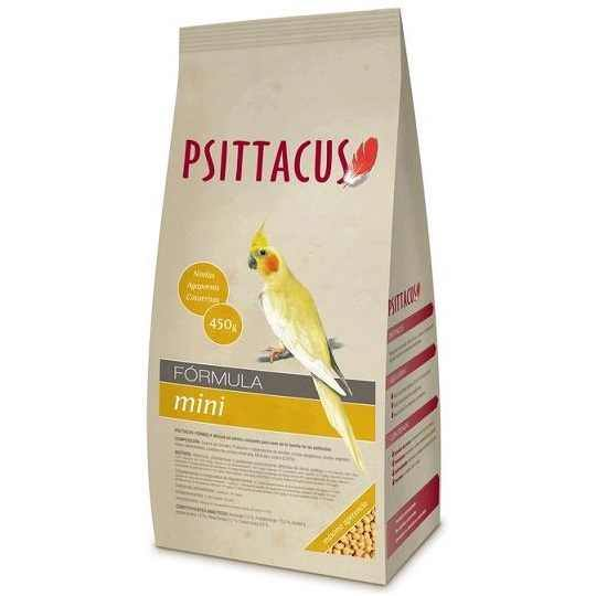 Psittacus Pienso Mini 450gr