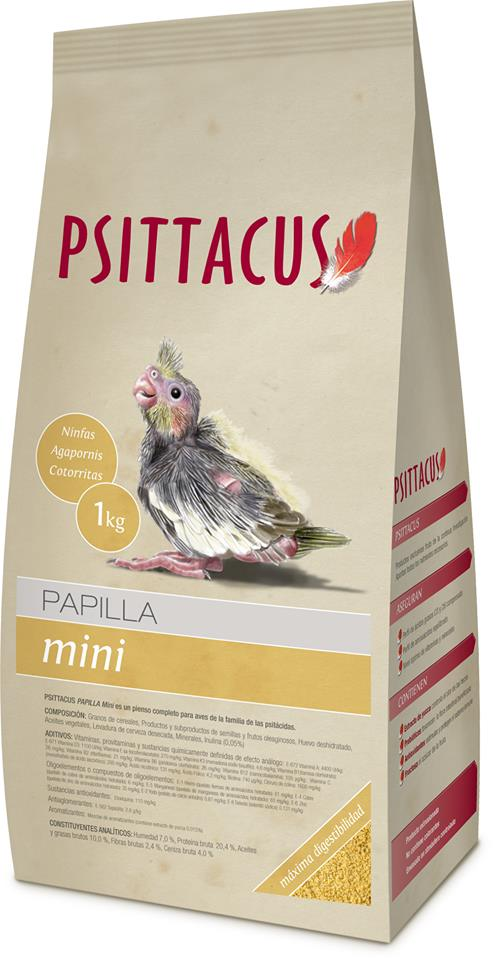 Psittacus Papilla Mini 1kg