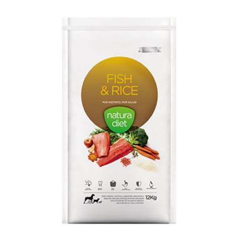 Natura Diet Fish & Rice (Pescado y Arroz) 12kg